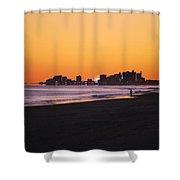 Sun Set Myrtle Beach Shower Curtain