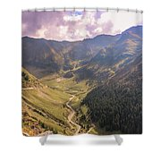 Sun Shining In The Valley Shower Curtain