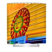 Sun Shopping Shower Curtain