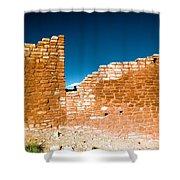 Sun Soaked Ruins Shower Curtain