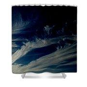 Sun Swirl Shower Curtain