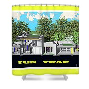 Sun Trap Section Shower Curtain
