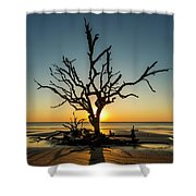 Sun-up Shower Curtain