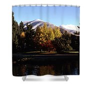 Sun Valley Morning Shower Curtain