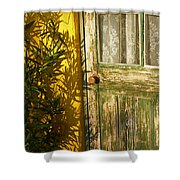 Sun Warmed And Weathered Shower Curtain