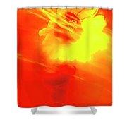 Sun Wind And Sunflower. Shower Curtain
