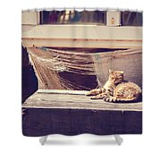 Sunbather Shower Curtain