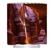Sunbeam In Antelope Canyon Shower Curtain