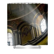 Sunbeams Heavenward Shower Curtain