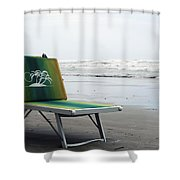 Sunbed Shower Curtain