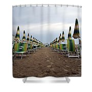 Sunbeds Shower Curtain