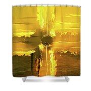 Sunburst Shower Curtain