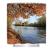 Sunbury On Thames Surrey Uk Shower Curtain