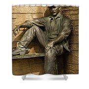 Sundance Kid Statue 5 Shower Curtain