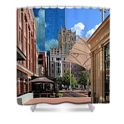 Sundance Square 5484mx Shower Curtain