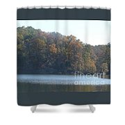 Sunday Afternoon At The Lake Shower Curtain