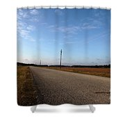 Sunday Drive Series Shower Curtain