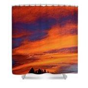 Sunday Sunrise Shower Curtain
