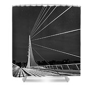 Sundial Bridge 2 Shower Curtain