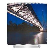 Sundial Bridge 4 Shower Curtain