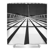 Sundial Bridge 9 Shower Curtain