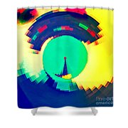 Sundial Of Emotions Shower Curtain