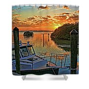 Sundown By H H Photography Of Florida Shower Curtain
