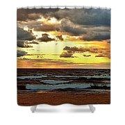 Sundown Shower Curtain