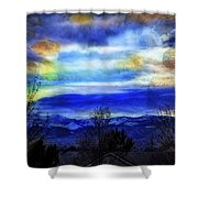 Sundown Overhead-2 Shower Curtain
