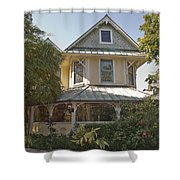Sundy House Shower Curtain