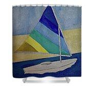 Sunfish Shower Curtain