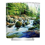 Sunfish Creek Shower Curtain