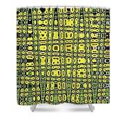 Sunflower #6595ew, Abstract, Shower Curtain