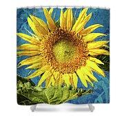 Sunflower Art Shower Curtain