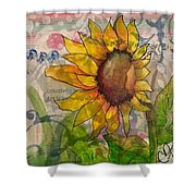 Sunflower Dream Shower Curtain