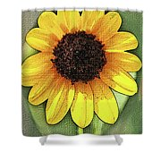 Sunflower Expressed Shower Curtain