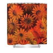 Sunflower Field 1.2 Shower Curtain