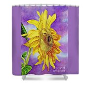 Sunflower Gold Shower Curtain