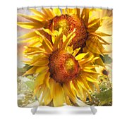 Sunflower Light Shower Curtain