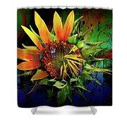 Sunflower Magic Shower Curtain