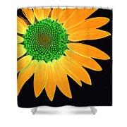 Sunflower Mosaic 1 Shower Curtain