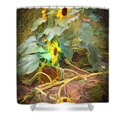sunflower No. 9 Shower Curtain