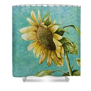 Sunflower Number One Shower Curtain