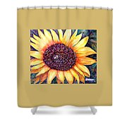 Sunflower Of Georgia Shower Curtain