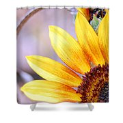 Sunflower Perspective Shower Curtain