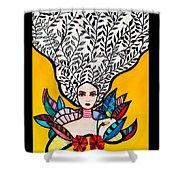 Sunflower Soul Shower Curtain