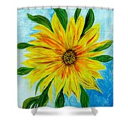 Sunflower Sunshine Of Your Love Shower Curtain
