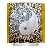 Sunflower Zen Shower Curtain