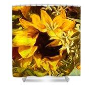Sunflower1 Shower Curtain