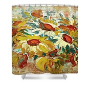Sunflowers 15 Shower Curtain